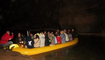 Napolnjen čoln v I. jezeru