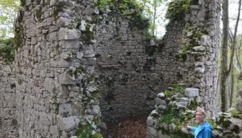Ostanek obrambnega stolpa-grad Šteberk