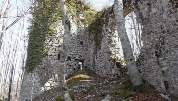 Razvaline gradu Šteberk