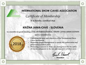 Certifikat ISCA 2016
