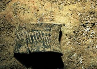 Košček 5000 let stare keramike